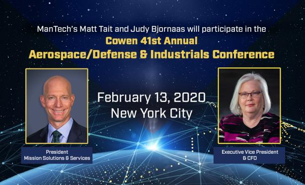 Cowen 41st Annual Aerospace/Defense & Industrials Conference