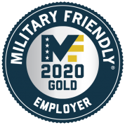 Military Friendly 2020 Gold